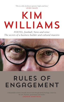 Kim Williams' new book, Rules of Engagement
