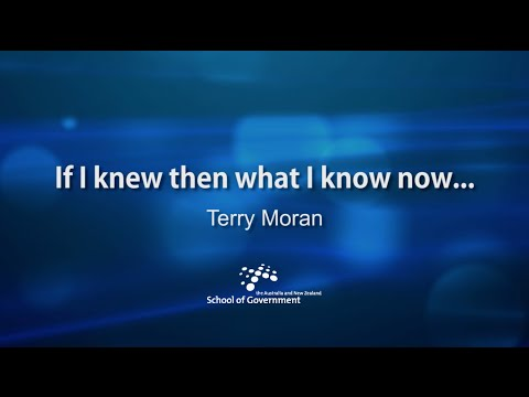 Terry Moran: if I knew then what I know now ...