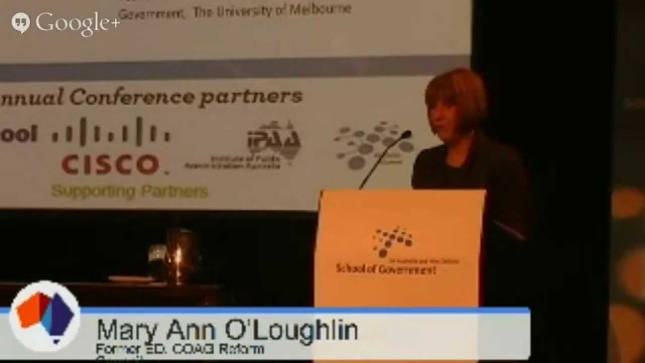 Lessons to learn from the aborted COAG reform council