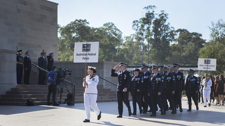 Operation Slipper nod to deployed police, public servants