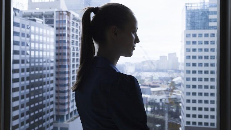 Public sector weak, improving on female representation