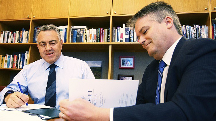 Federal budget 2015: Cormann's incredible shrinking government