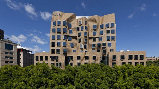 DTO's new home away from Canberra: the Dr Chau Chak Wing Building at the University of Technology, Sydney.