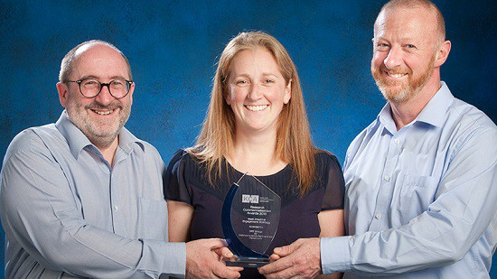 Uni engagement nets award for Defence scientists