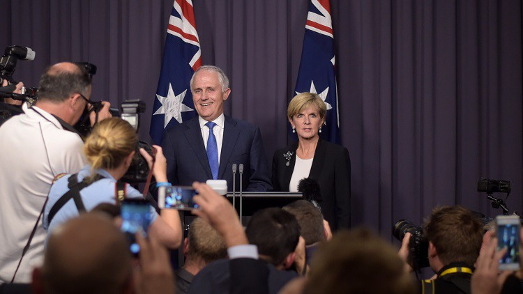 Malcolm Turnbull becomes 29th Prime Minister, frontbench sweep imminent