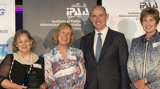 Tas' edi schools field in public sector management at PM's awards