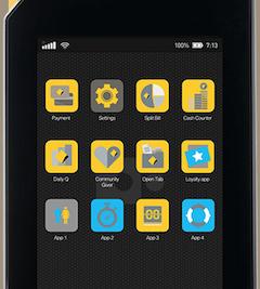 The Albert EFTPOS tablet