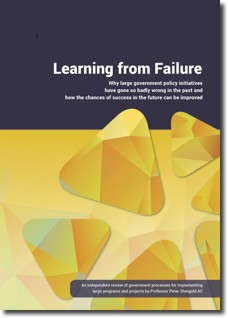 Learning From Failure report