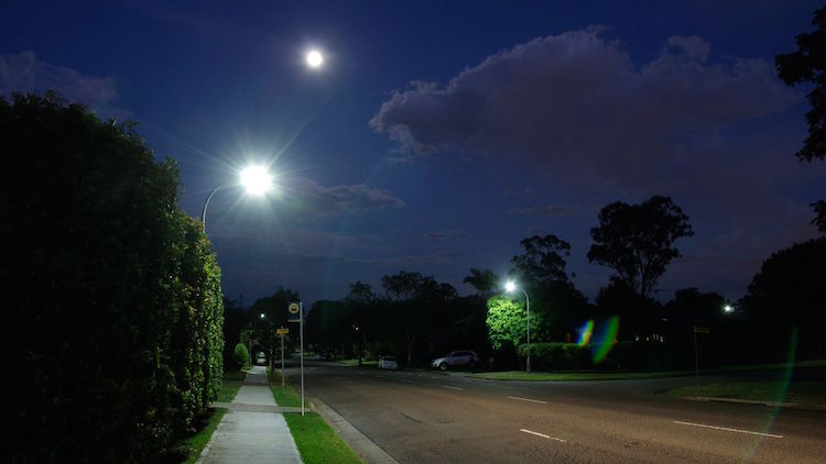 LED street lights to cut costs and emissions in Sydney