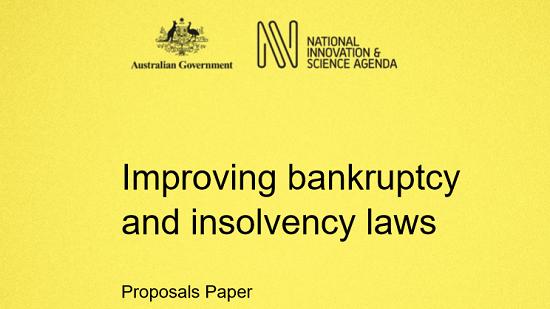Innovation agenda's bankruptcy reform needs more caution