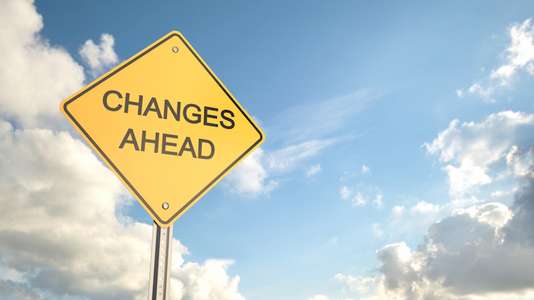 How can APS leaders become adept at leading through change?