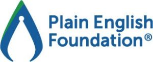 Plain English Foundation logo