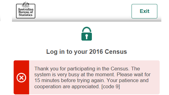 Where is the trust? Census DDoS claim faces early scepticism