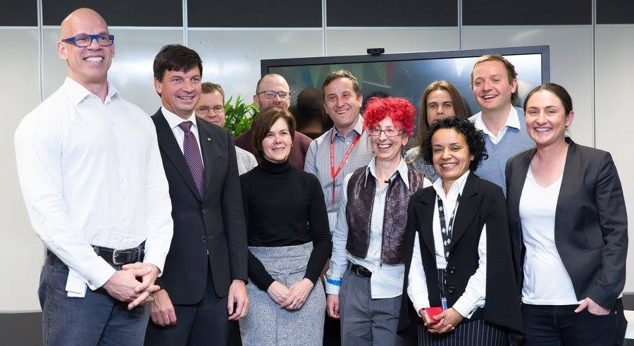 """The Digital Marketplace is a step closer to providing a new and exciting platform for businesses and Government to work together in a highly creative, flexible and innovative way,"" says Angus Taylor."