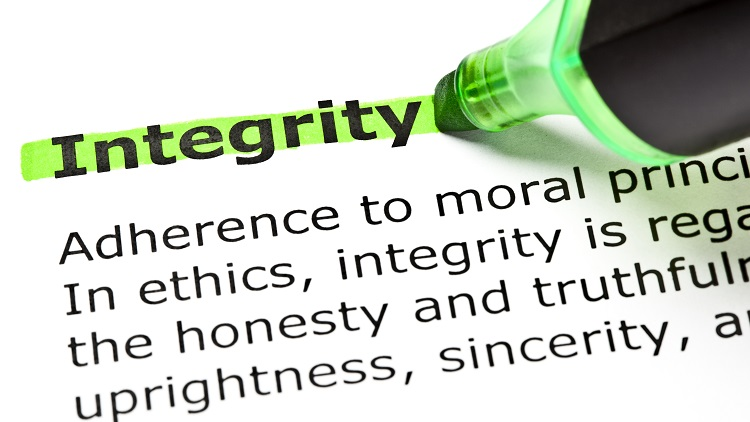 Preaching is no solution for building integrity