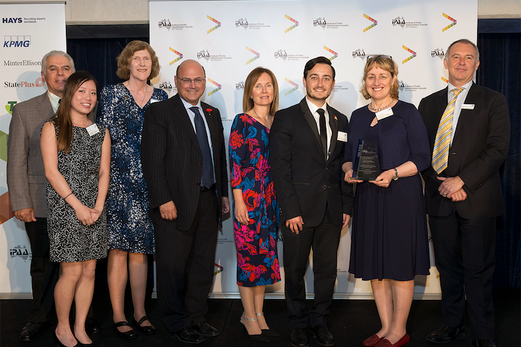 The team from NSW Health's Sydney Local Health District.
