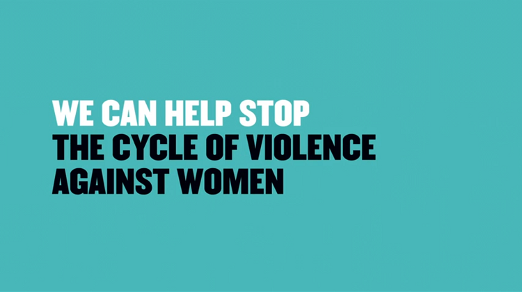 Standing up for respectful relationships and saying 'No' to violence