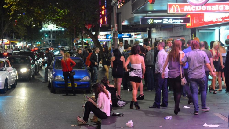 NSW lockout laws: violence travels, but there's a lot less of it