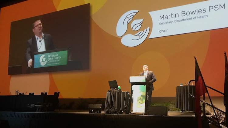 Federal health boss Martin Bowles on his role as steward of a strained system