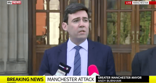 'Our darkest of nights': how the mayor responded to the Manchester Arena suicide bombing