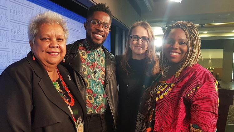Speech: Black Lives Matter in Australia, too