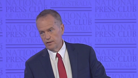 Shorten steps up to support a federal ICAC