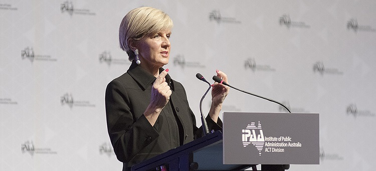 Julie Bishop's days of allowing men to take credit for women's ideas are over