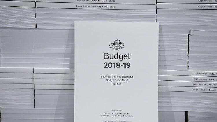 Budget cover 2018