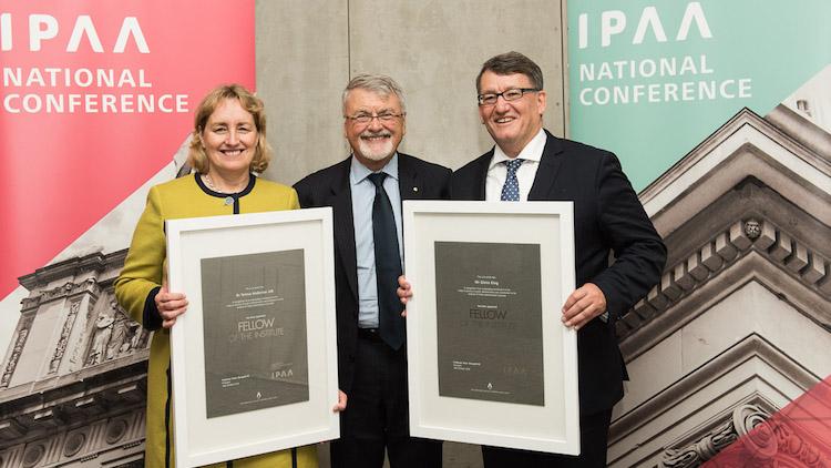 Top public servants named new IPAA national fellows