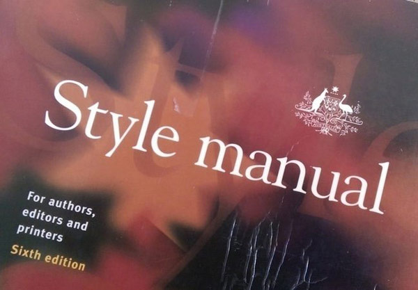 Towards a universal Style Manual