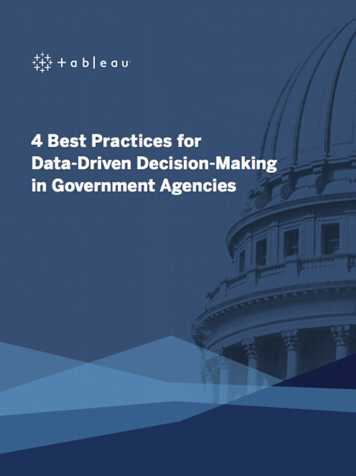 eBook: Four best practices for data driven decision-making in government agencies image