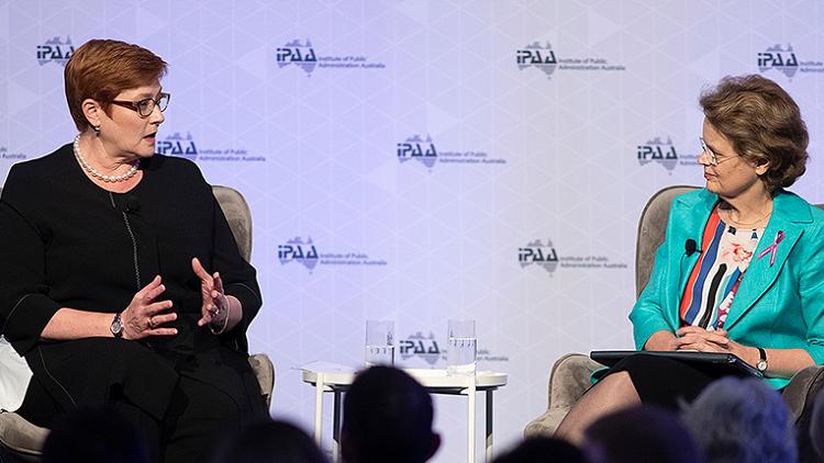 International Women's Day: Marise Payne says female leaders make the world more peaceful