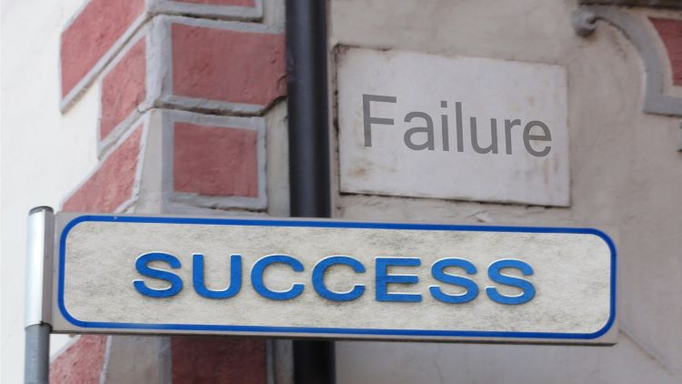 Learning from failure and success