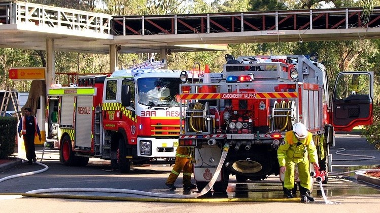 Firefighters recognised for bravery and service, and high risk of work-related cancer