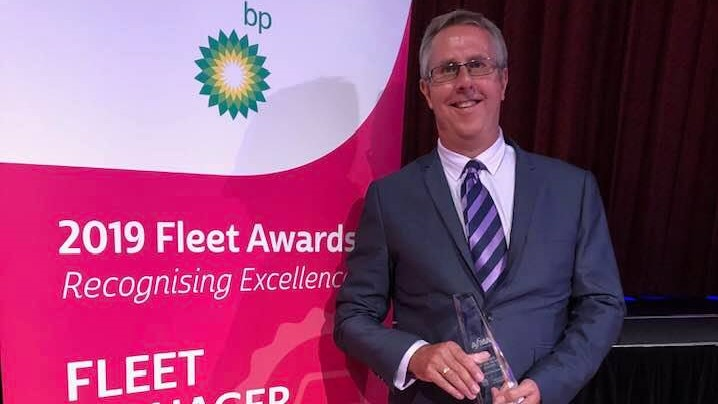 Award-winning innovation: Fleet Manager of the Year saves lives, $1m a year