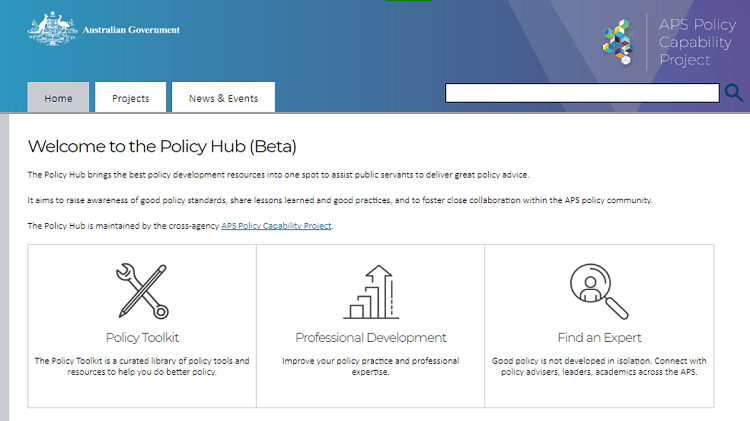 APS secretaries unveil online collaboration hub in push to improve policy skills