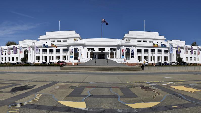 Old Parliament House's democracy museum celebrates three million visitors
