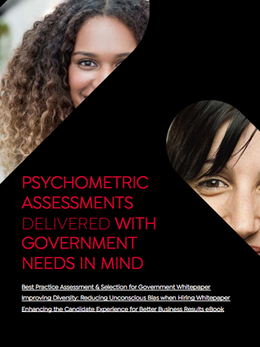 eBook: Psychometric assessments delivered with government needs in mind image