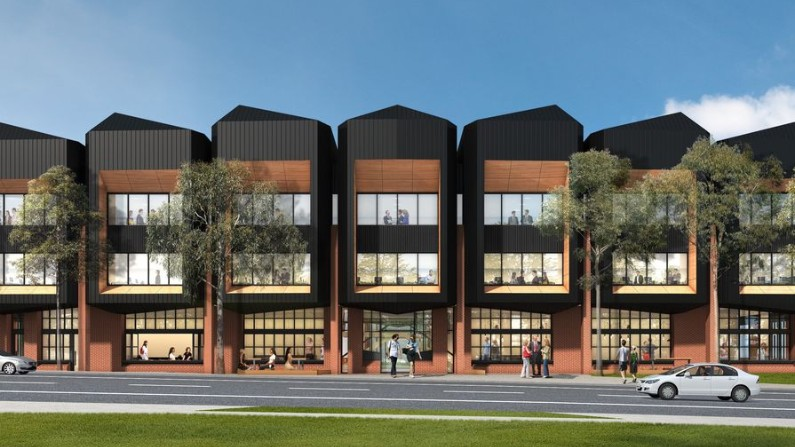 Designs released for 'GovHub' that will house 200 new public sector jobs