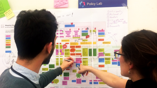 The UK's Policy Lab is using co-design and games to rethink both the solutions and problems of government — without a budget