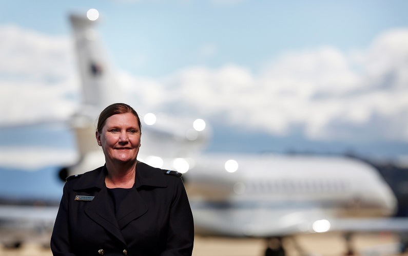 Catherine Roberts makes history as engineers fly high in Air Force