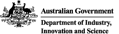 The Department of Industry, Innovation and Science logo