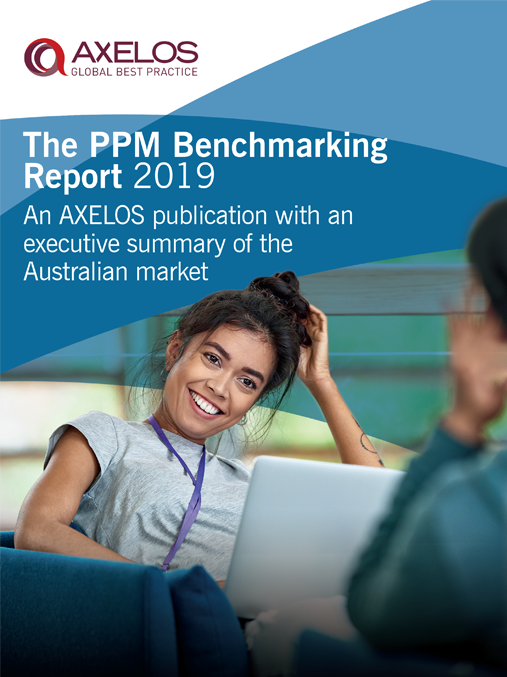 eBook: The PPM Benchmarking Report 2019 image