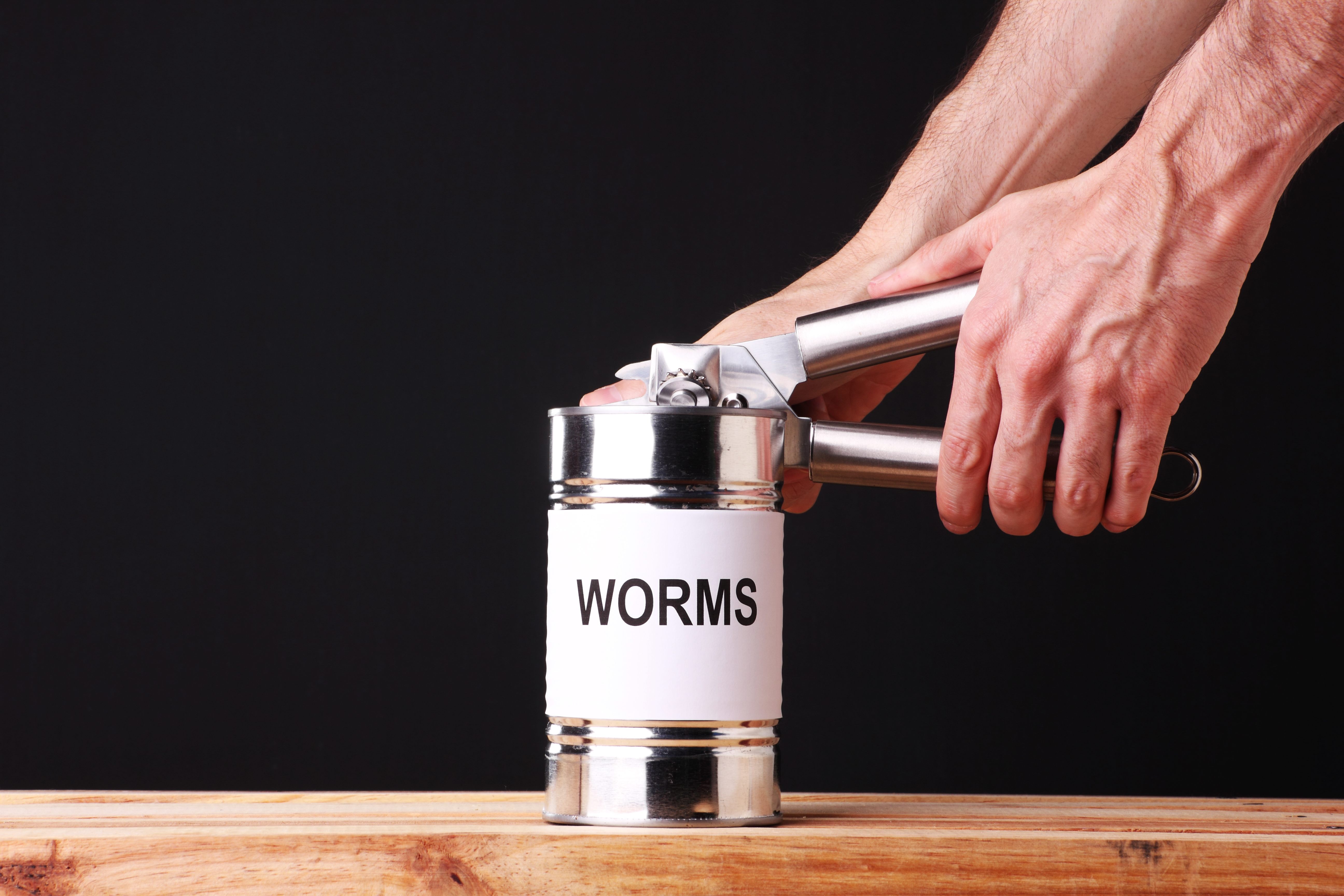 When a can of worms has been opened, of course no one wants to embrace it