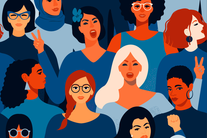 How can women have greater impact in the public sector?
