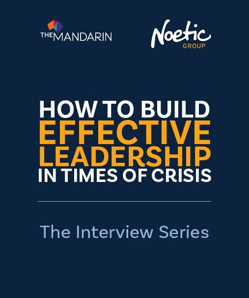 Interview series: How to build effective leadership in times of crisis image