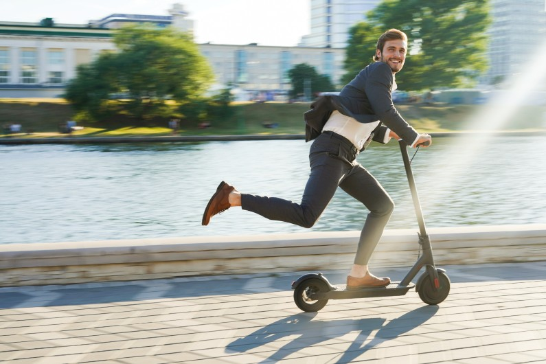 Brisbane City Council encouraging health workers to travel with e-scooters