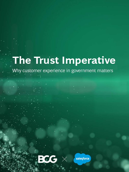 eBook: The trust imperative – why customer experience in government matters image