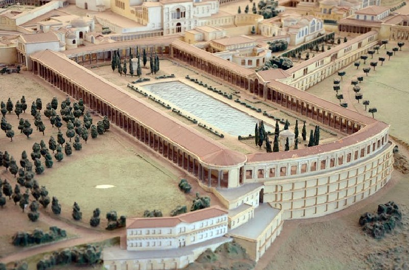 Walking, talking and showing off – a history of Roman gardens