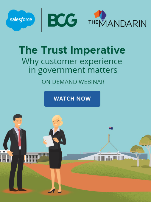 On Demand Webinar: The trust imperative – why customer experience in government matters image